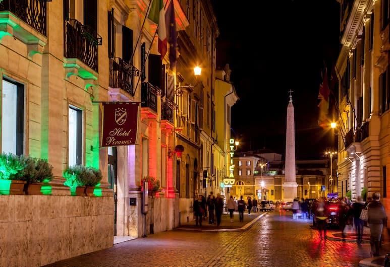 Hotel Piranesi, Rome, Façade de l'hôtel