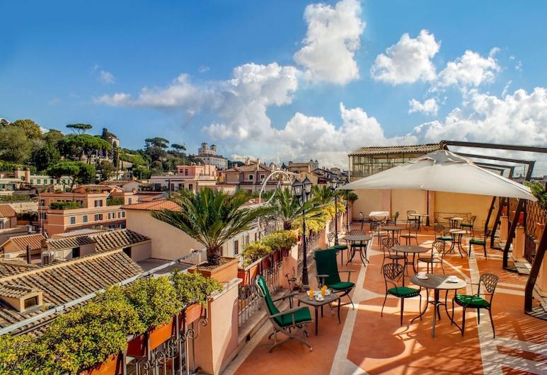 Hotel Piranesi, Rome, Terrasse/Patio