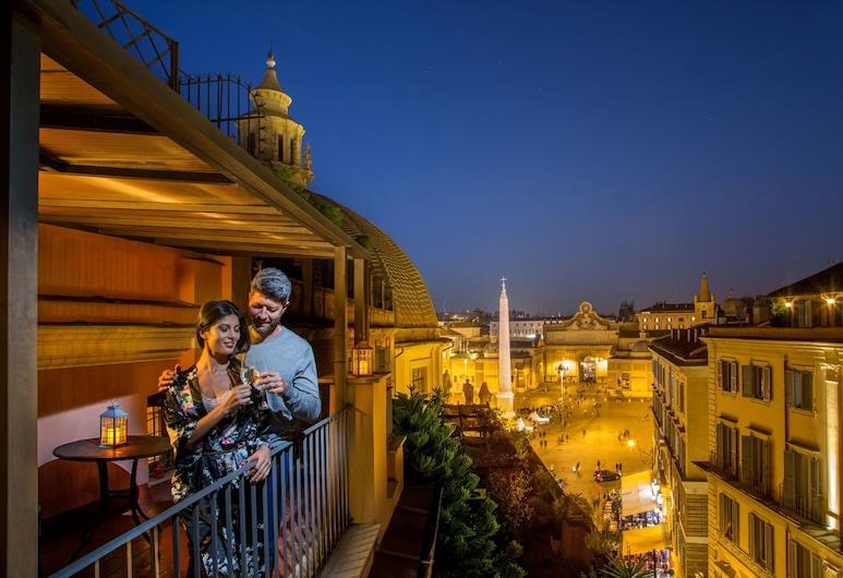 Hotel Piranesi, Rome, Panoramic Suite, Guest Room