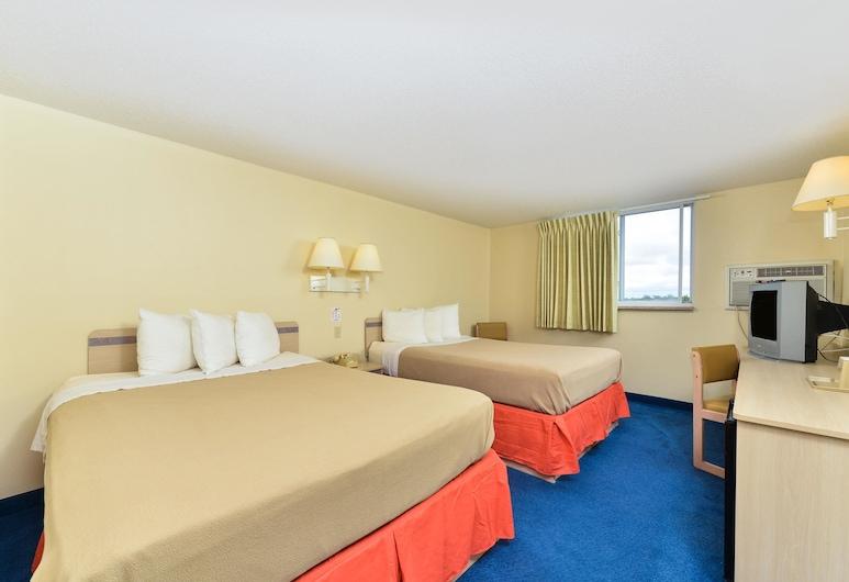 Americas Best Value Inn Jefferson City, Jefferson City, Standarta numurs, 2 divguļamās gultas, nesmēķētājiem, Viesu numurs