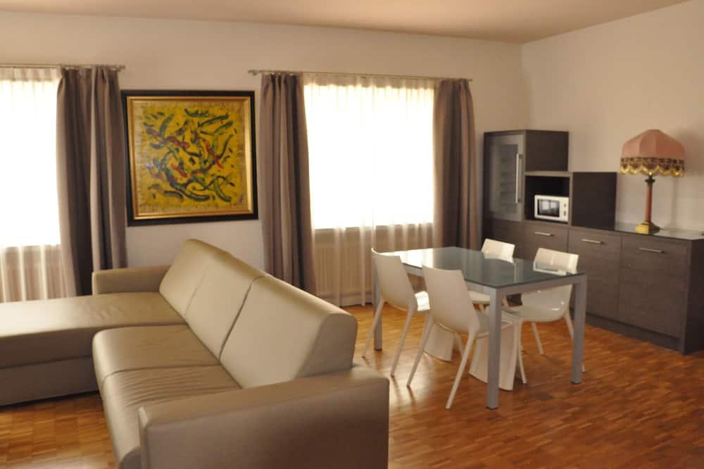 Apartment, 1 Bedroom (plus living room) - Living Area