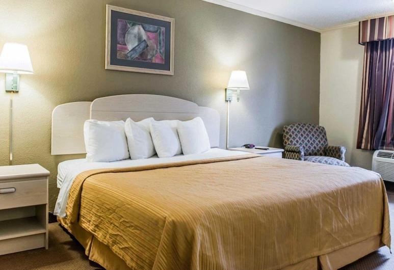 Quality Inn Tallahassee near University, Tallahassee, Chambre Standard, 1 très grand lit, non-fumeurs, Chambre