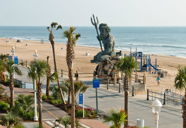Four Points By Sheraton Virginia Beach Oceanfront, Virginia Beach, Výhled z hotelu