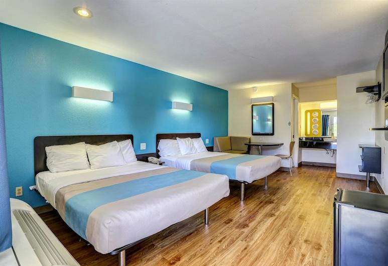 Motel 6 Dickson, TN, Dickson, Habitación estándar, 2 camas Queen size, para no fumadores, Habitación