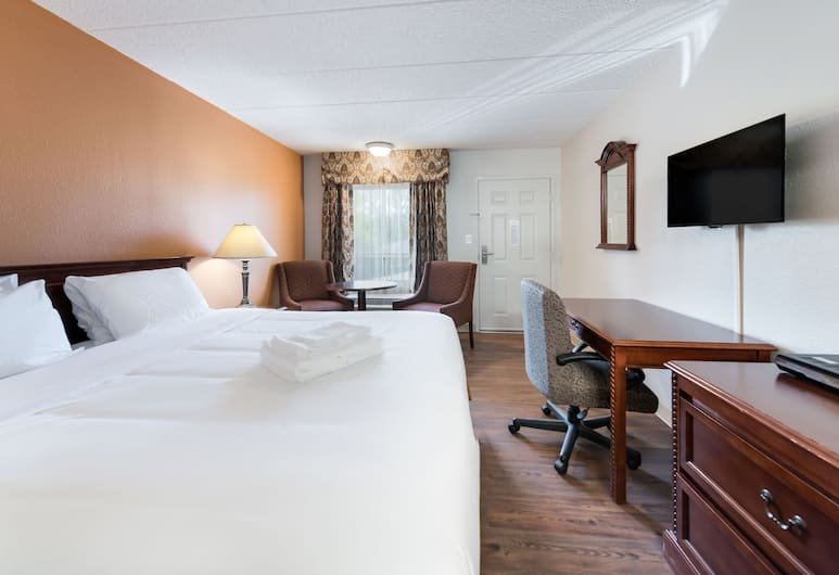 Americas Best Value Inn Columbus, Columbus, Room, 1 Katil Raja (King), Accessible, Non Smoking, Bilik Tamu