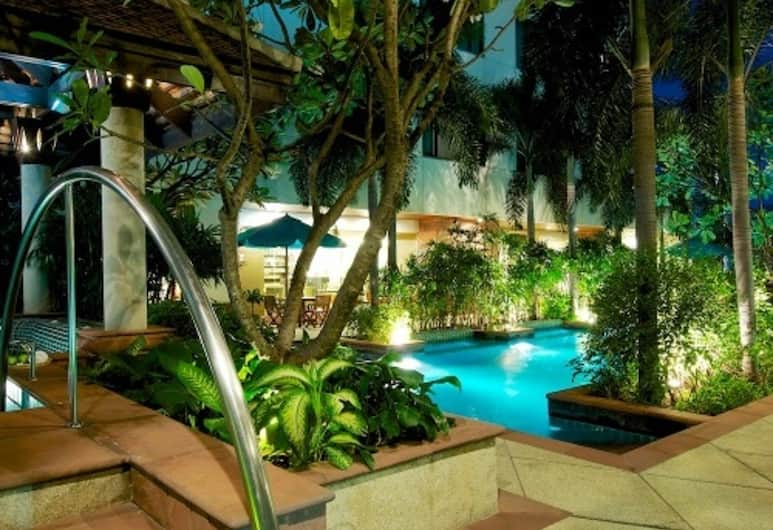Jasmine City Hotel, Bangkok, Teras/Veranda