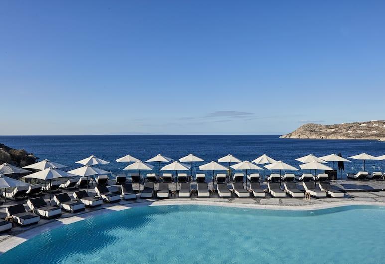 Myconian Imperial - Leading Hotels of the World, Mykonos, Utendørsbasseng