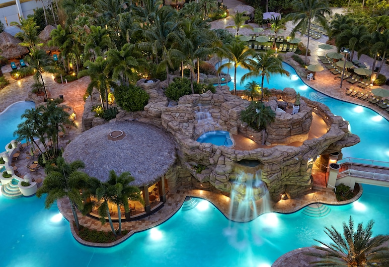 Seminole Hard Rock Hotel and Casino, Hollywood, Bazén
