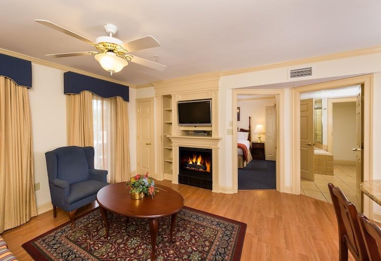 Westgate Historic Williamsburg Resort, Williamsburg, Villa, 1 Bedroom, Living Room