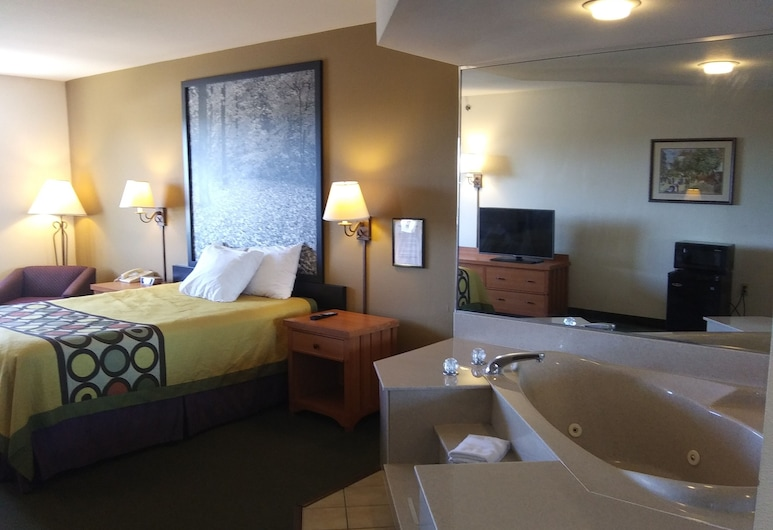 Super 8 by Wyndham Columbia East, Columbia, Suite, Gjesterom