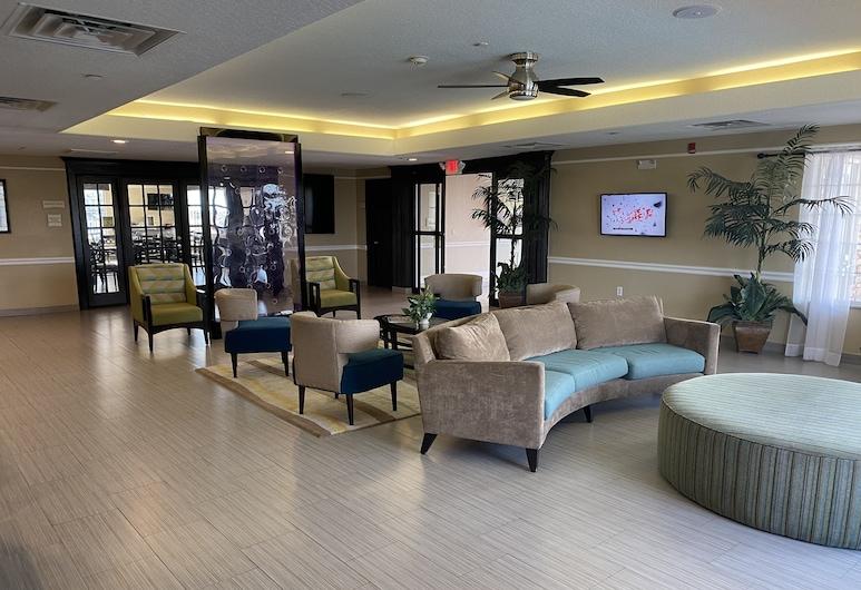 蓋維斯頓海灘酒店, 加耳維斯敦, 大堂閒坐區