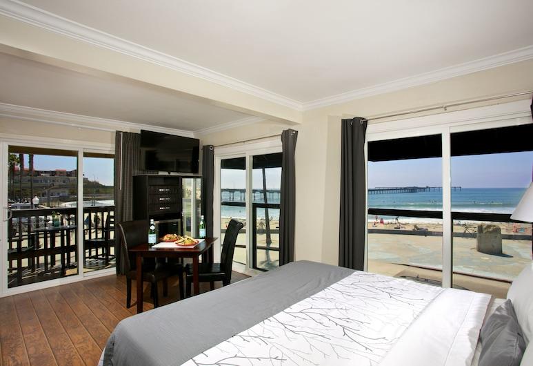 Ocean Beach Hotel, San Diego, Apartament typu Suite, Wiele łóżek, Pokój