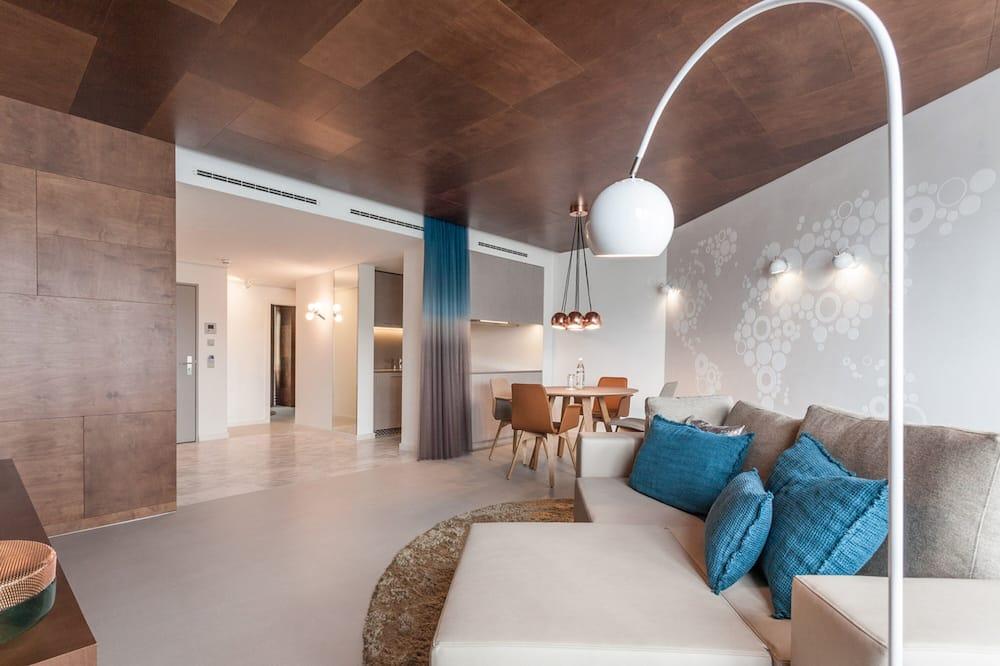 Улучшенный люкс, 2 спальни, мини-кухня - Номер