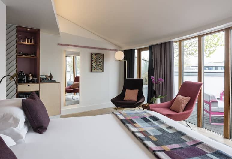 The Zetter Hotel, London, Deluxe Room (Rooftop ), Living Area