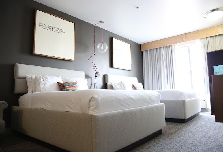耶勒姆酒店 - 登高精選酒店, 侯斯頓, 套房, 2 張加大雙人床, 非吸煙房, 客房