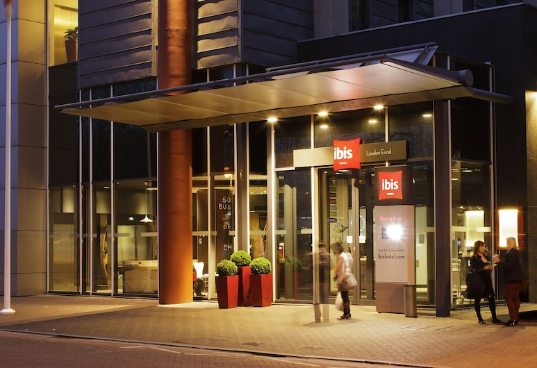 ibis London Excel Docklands, London, Hoteleingang