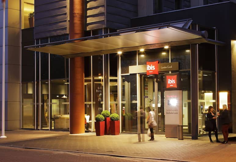 ibis London Excel Docklands, London, Hotellinngang