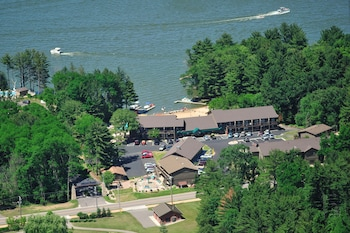 Foto van Baker's Sunset Bay Resort in Wisconsin Dells