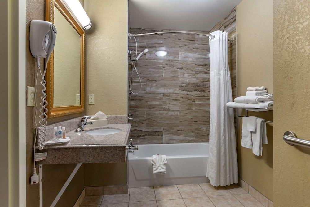Δωμάτιο, 1 King Κρεβάτι, Πρόσβαση για Άτομα με Αναπηρία, Μη Καπνιστών - Μπάνιο