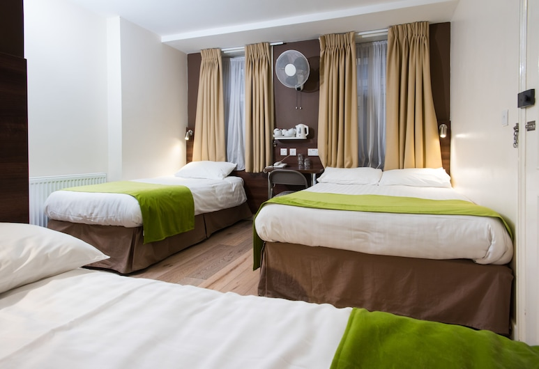 Marble Arch Inn Hotel, London, Familjerum - privat badrum, Gästrum