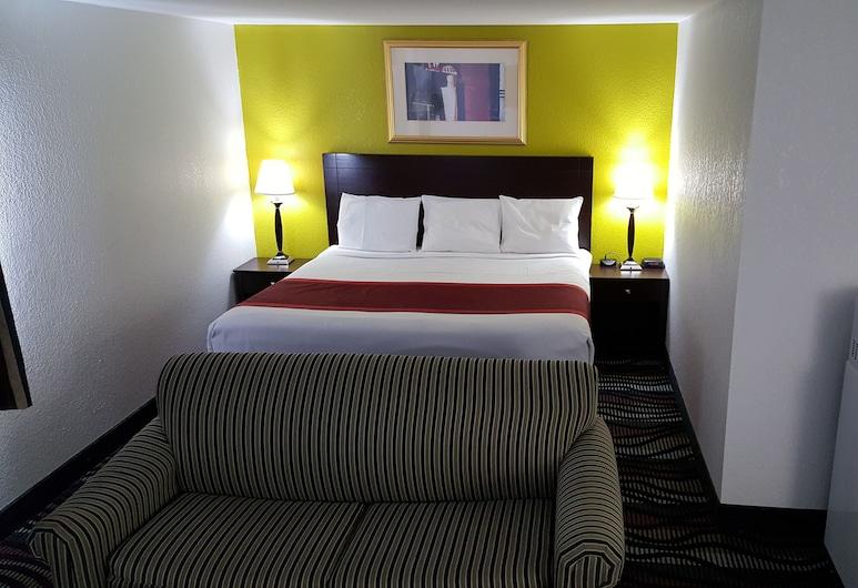 Horizon Inn Motel, Lincoln, Deluxe Room, 1 King Bed, Guest Room
