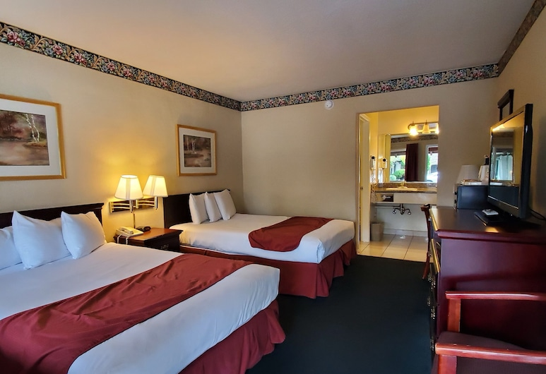Americas Best Value Inn Sky Ranch, Palo Alto, 1 King Bed Non-Smoking, Guest Room