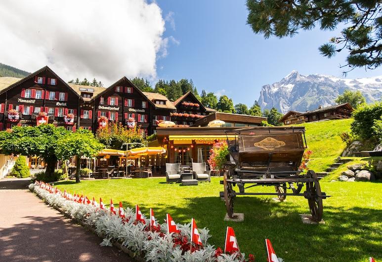 Romantik Hotel Schweizerhof, Grindelwald, Průčelí hotelu