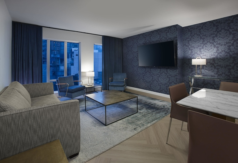 Pantages Hotel Downtown Toronto, Toronto, Deluxe-Suite, 1 King-Bett und Schlafsofa, Zimmer