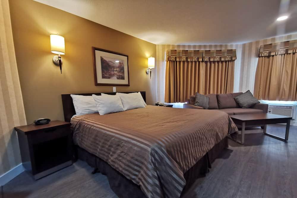 Δωμάτιο, 1 King Κρεβάτι (Jacuzzi) - Δωμάτιο επισκεπτών