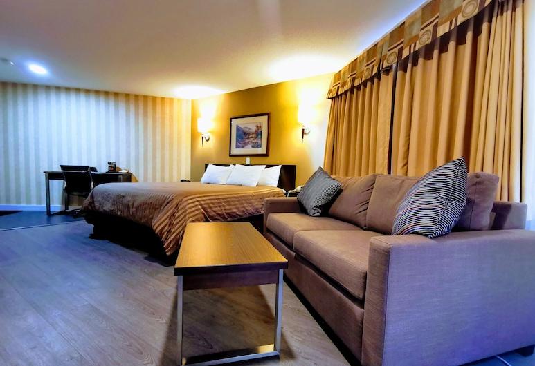 Rodeway Inn & Suites, Kamloops, Oda, 1 En Büyük (King) Boy Yatak (Jacuzzi), Oda