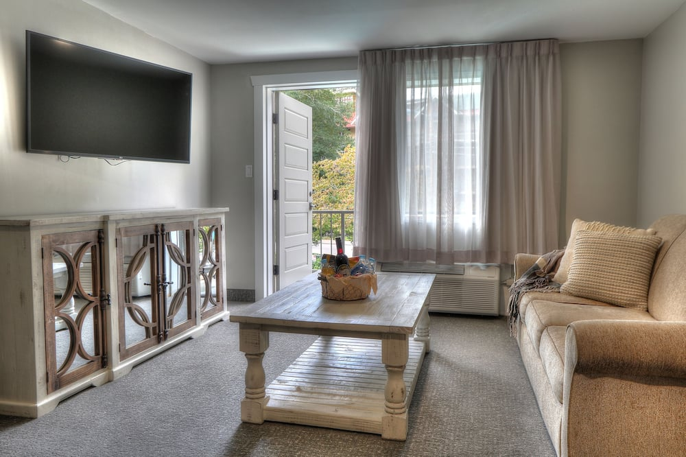 Family Suite, 2 Bedrooms, Kitchen (Private Balcony) - Living Room