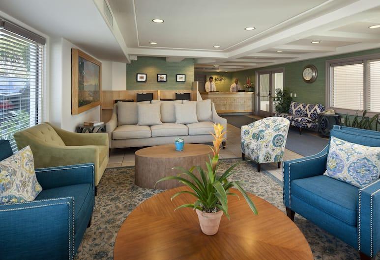Sandpiper Lodge, Santa Barbara, Lobby Sitting Area
