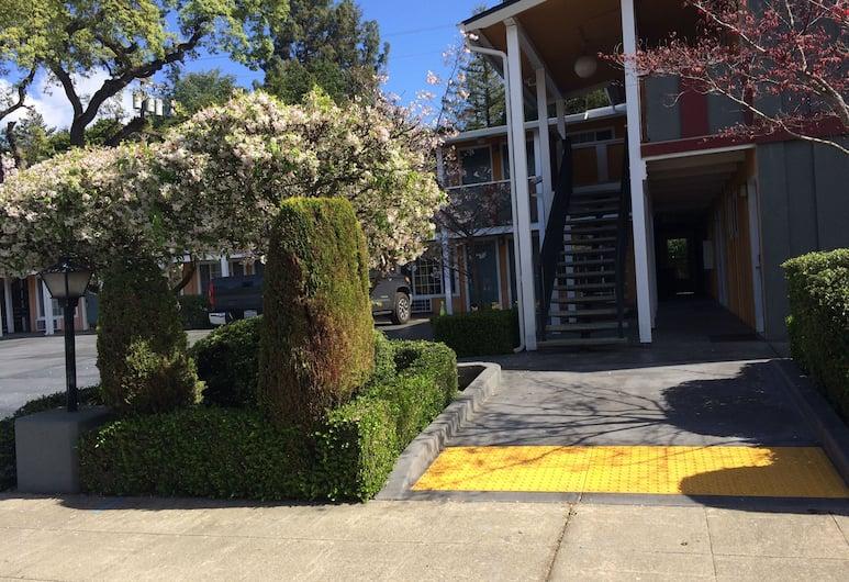 Oak Motel Palo Alto, Palo Alto, Parco della struttura