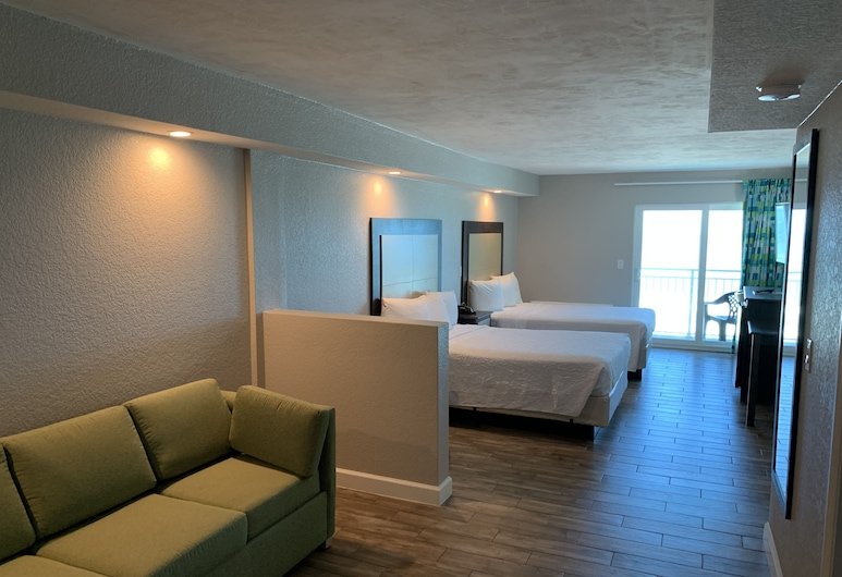 Boardwalk Inn and Suites, Daytona Beach, Suite, Oceanfront, Guest Room