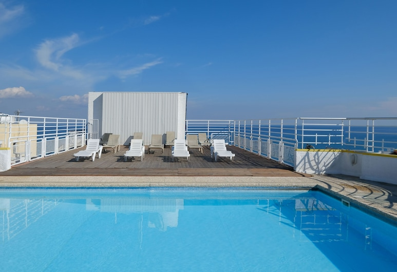 Flamingo Beach Hotel, Λάρνακα, Πισίνα στην ταράτσα