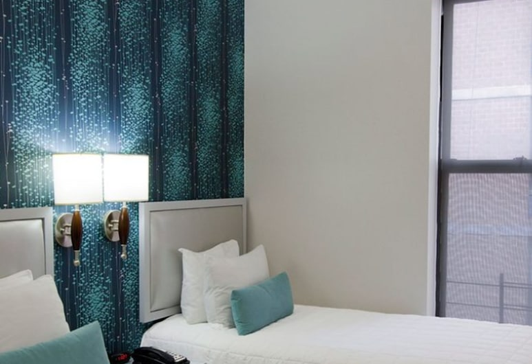 Belnord Hotel, New York, Tomannsrom, 2 enkeltsenger, privat bad, Gjesterom