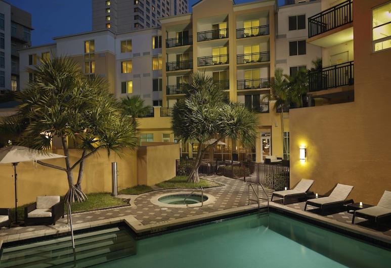 Courtyard by Marriott Miami Dadeland, Miami, Außen-Whirlpool