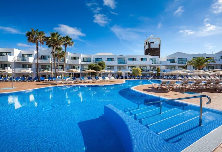 蘭索羅特島海灘比萊夫體驗飯店, 特吉塞城, 游泳池