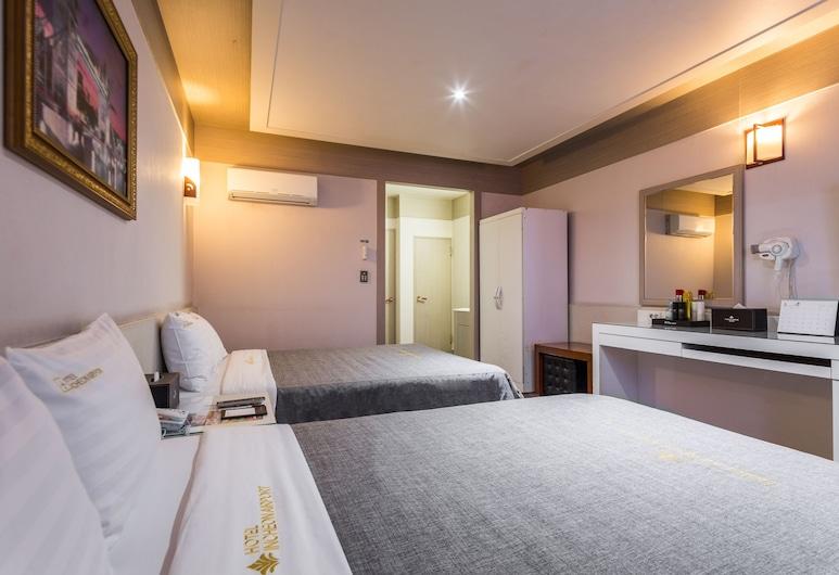 Incheon Airport Hotel, Incheon, Family İki Ayrı Yataklı Oda, 2 Çift Kişilik Yatak, Oda