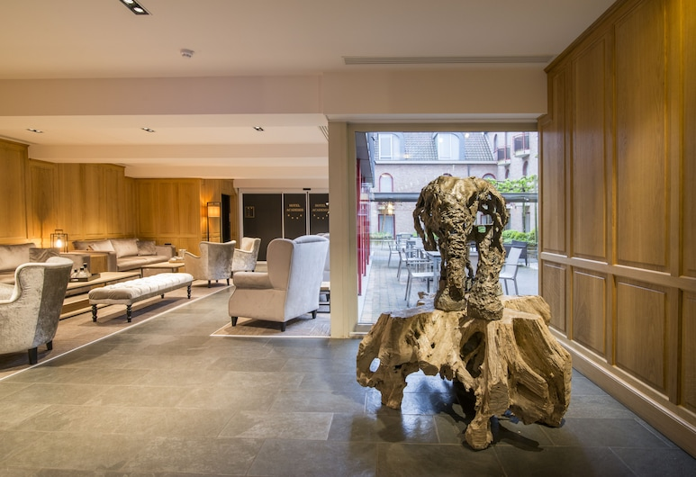 Academie Hotel, Bruges, Lounge della hall