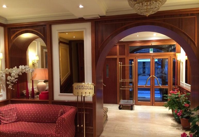 Hotel San Carlo, Rom, Lobby
