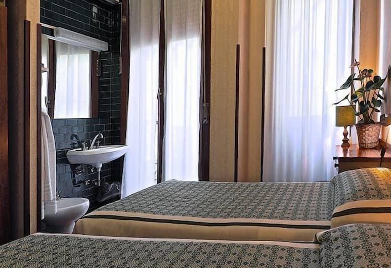 London Hotel, Milan, Chambre Standard, 2 lits une place, Chambre