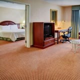 Suite, 1 habitación, bañera de hidromasaje (1 King) - Sala de estar