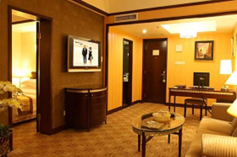高級套房 - 客廳