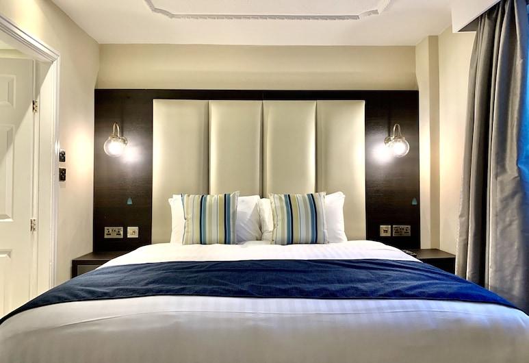 Trafford Hall Hotel, BW Signature Collection, Manchester, Pokoj Deluxe s dvojlůžkem nebo dvěma jednolůžky (new rooms), Pokoj