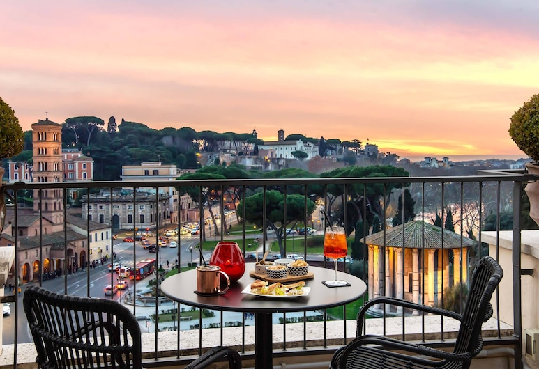 47 Boutique Hotel, Rome, Outdoor Dining