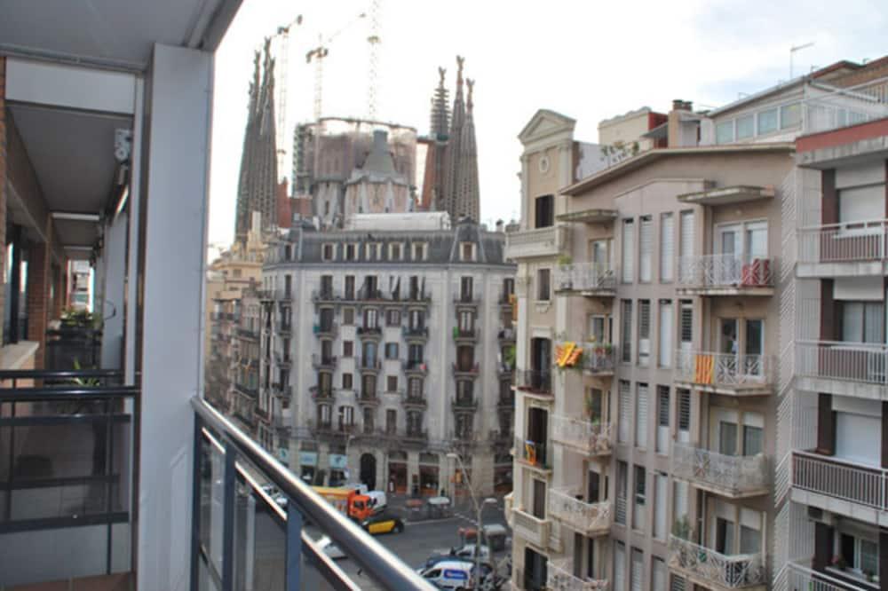 Apartmán, 2 spálne (3 pax) - Balkón