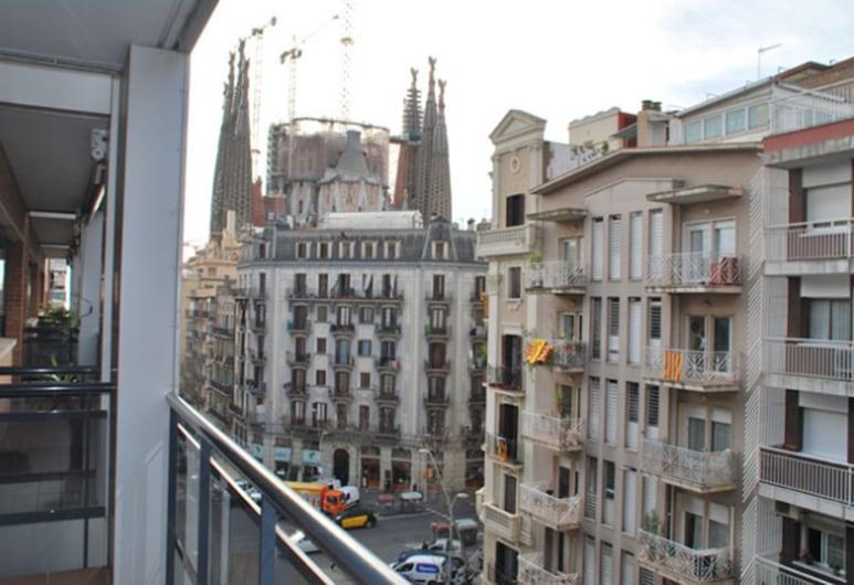 Suites Marina, ברצלונה, דירה, 2 חדרי שינה (3 pax), מרפסת