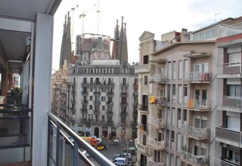 스위트 마리나, 바르셀로나, 아파트, 침실 2개 (1 pax), 발코니