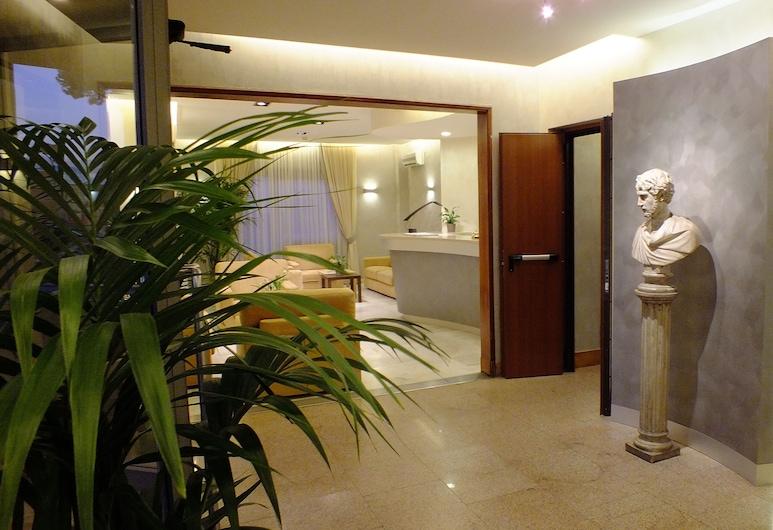 Hotel Consul, Rome, Interior Entrance